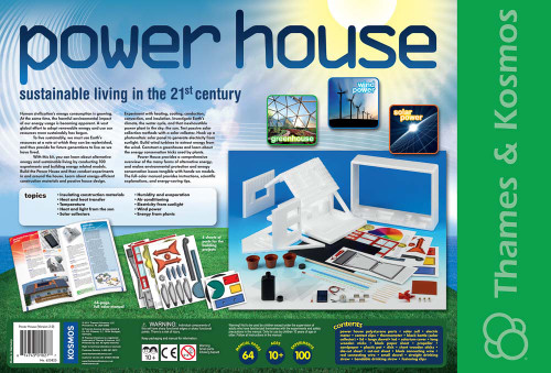 thames and kosmos power house back of box