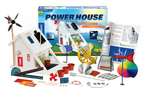 thames and kosmos power house kit contents