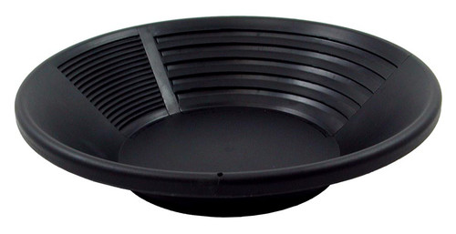 Gold pan, plastic, 10""