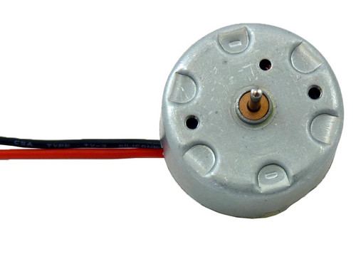 Low Speed DC Motor, 0.5-6 volt