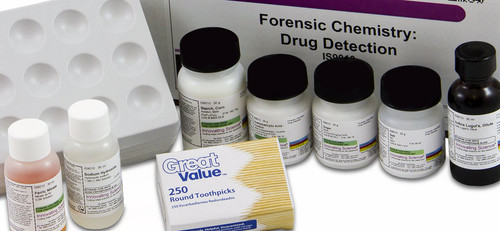 Forensic Chemistry Drug Detection Kit