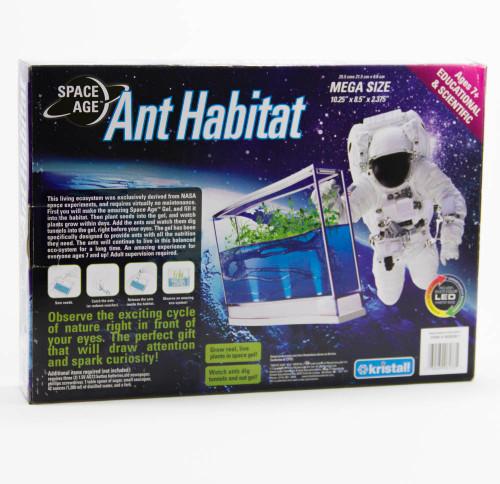 Space Age Ant Habitat, LED Illuminated