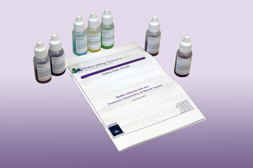 Forensic Chemistry of Blood Types - Refill Kit