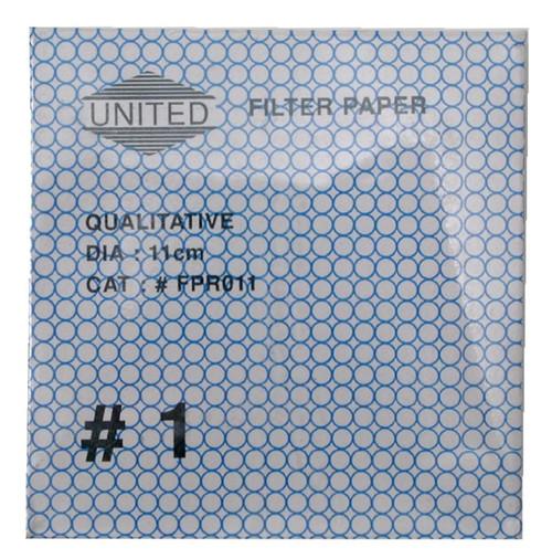 Filter Paper, 11 cm, 100 pack