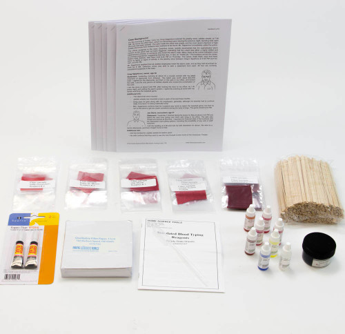 Crime Scene Science Classroom Refill Kit