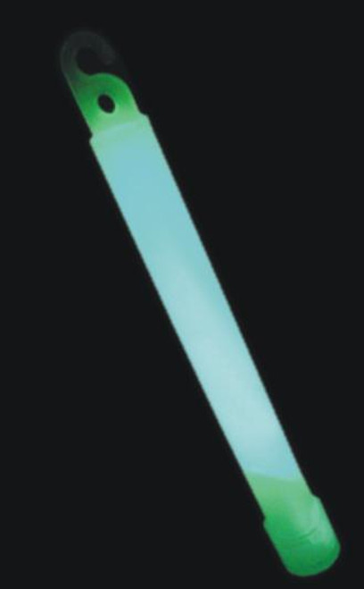 "Glow light stick, 6"", green"