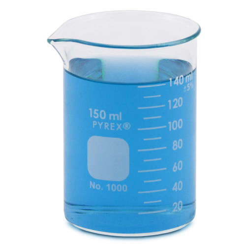 PYREX Beaker, Low Form, 150 ml