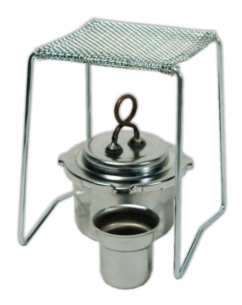 Alcohol Lamp & Stand Set
