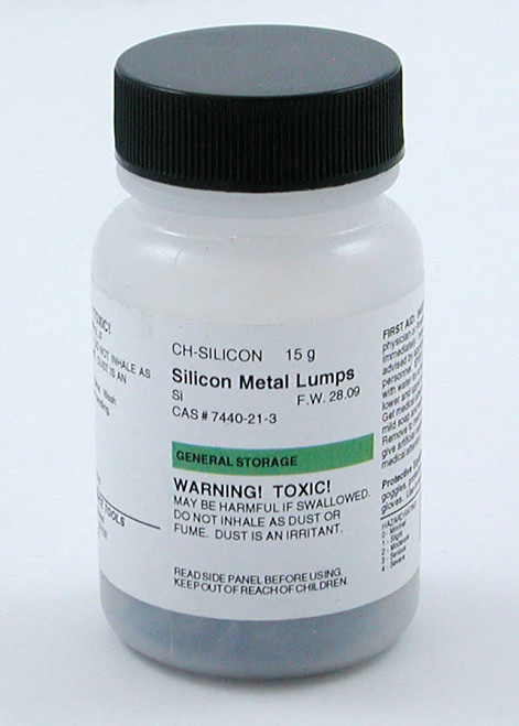 Silicon Metal, lumps, 15 g