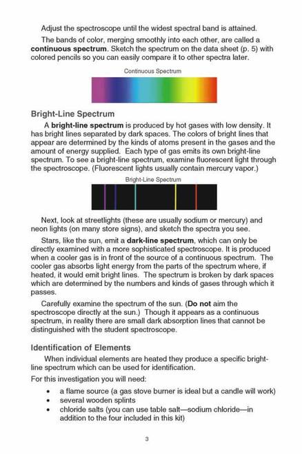 Spectroscope Analysis Kit