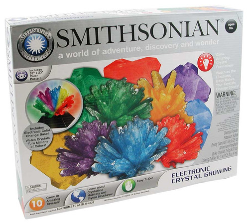 Smithsonian Crystal Growing Kit Electronic Crystals