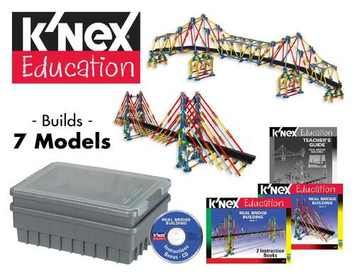 K'Nex Real Bridge Building Kit