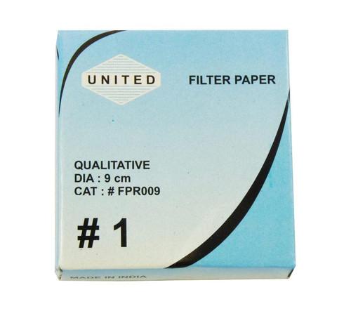 Filter Paper, 9 cm, 100 pack