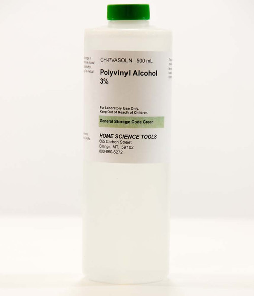 Polyvinyl Alcohol 3% Solution, 500mL