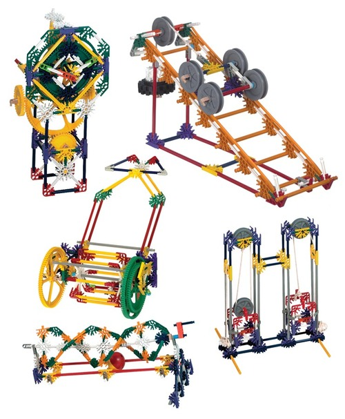 K'Nex Deluxe Simple Machines Kit