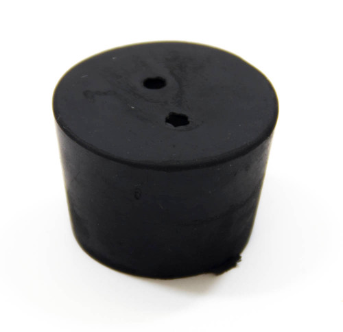 Rubber Stopper, #7, 2-hole