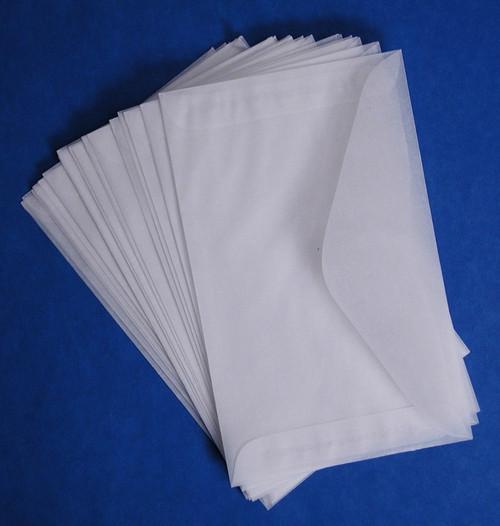 """Glassine Envelopes, 3"""" x 5"""", 100 pack"""