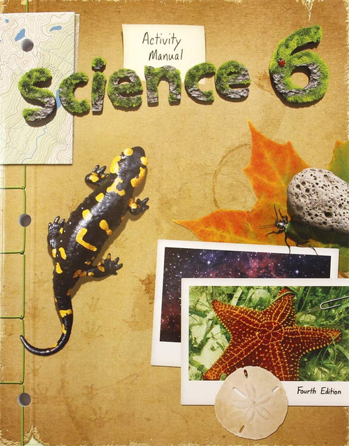 Bob Jones Science 6 Activity Manual