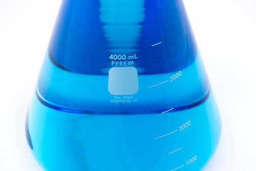 PYREX Erlenmeyer Flask, 4000 ml