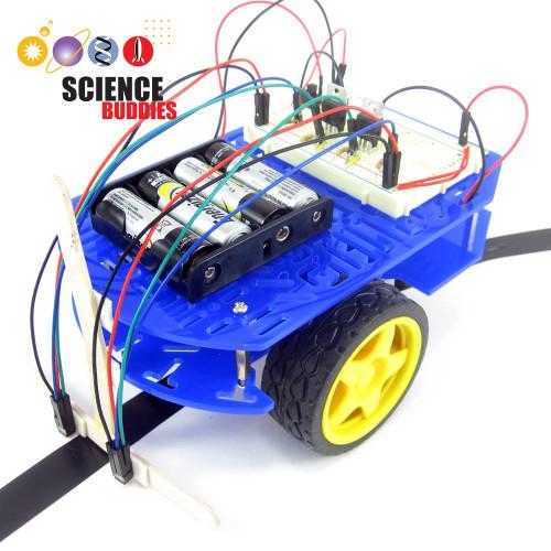 BlueBot: 4-in-1 Robotics Kit