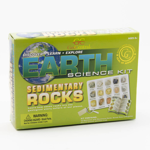 Earth Science Kit: Sedimentary Rock Collection