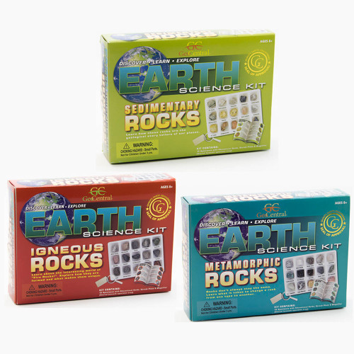 Earth Science Kit: Rock Collection Set, 45 specimens