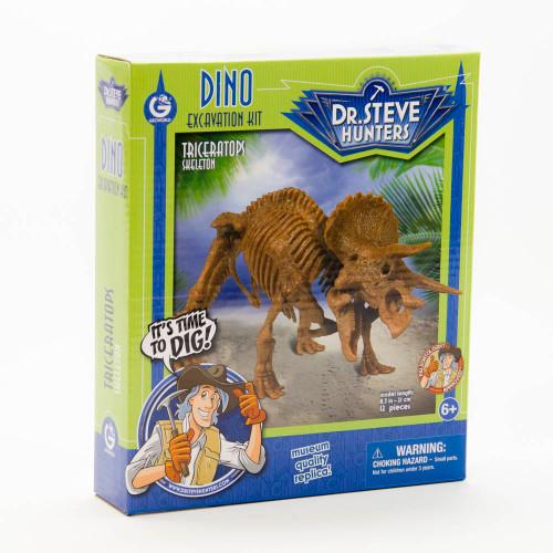 Dino Excavation Kit: Triceratops