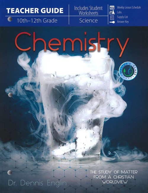 Master Books Chemistry, Teacher's Guide