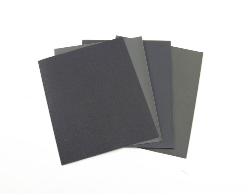 Polishing Paper Set, 4 different grits