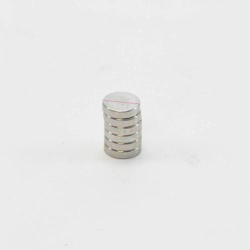 "Neodymium Disc Magnets, 0.5"", 6 pack"