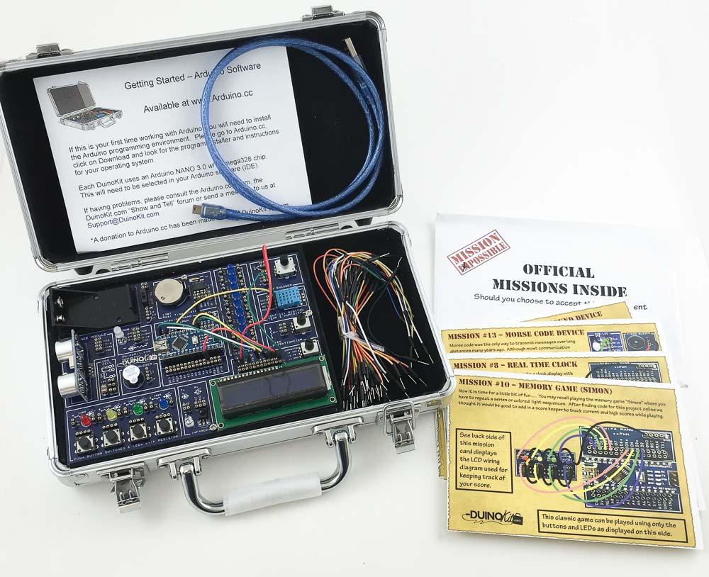 Duinokit Jr Arduino Based Prototyping Kit Electronic Circuit