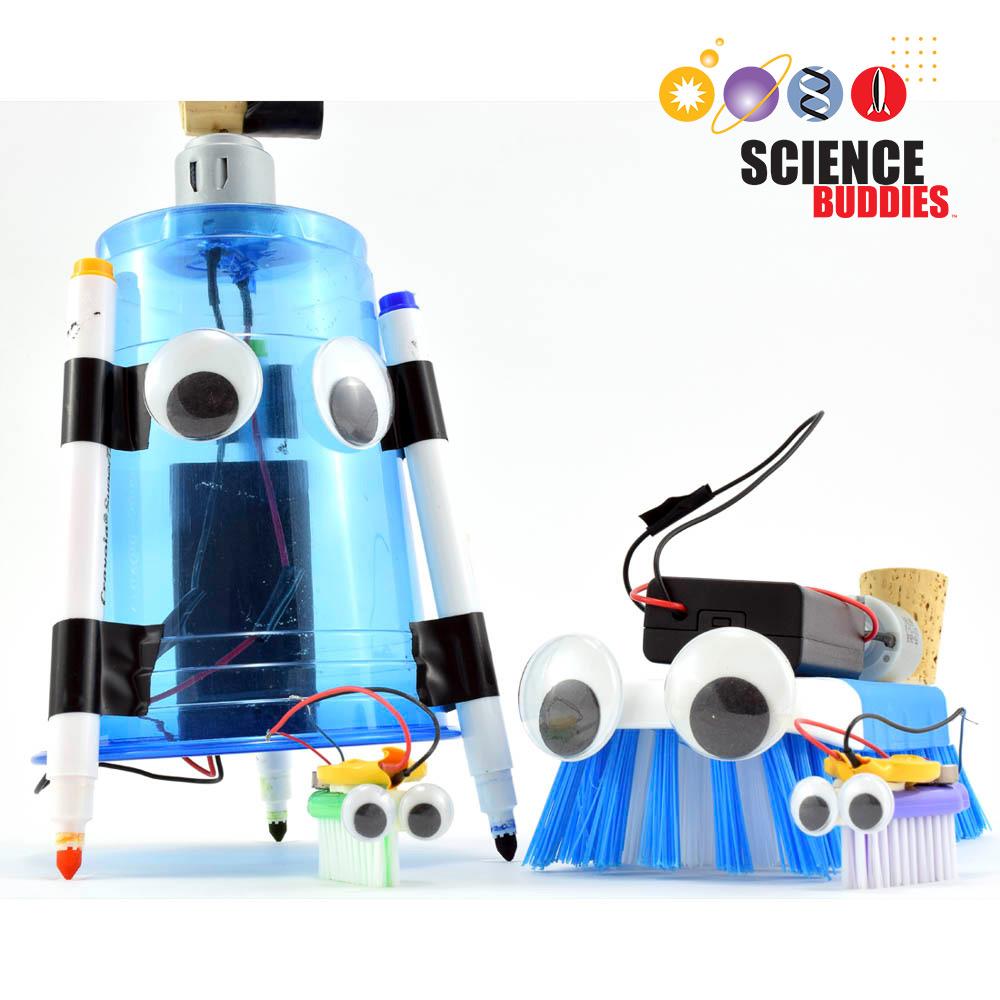 Bristlebot Kit Science Buddies Robot Hobby Circuits Free Electronic Circuit Robotics Project