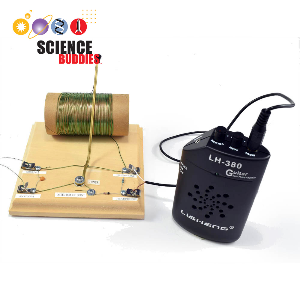 Build Your Own Crystal Radio Science Buddies Circuit Kit
