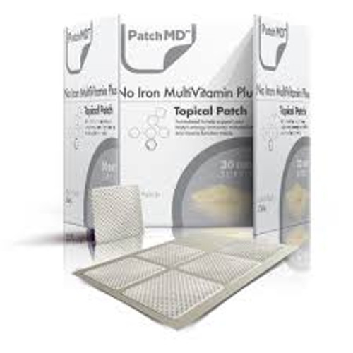 No Iron MultivitaminPlus Topical Patch