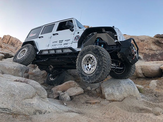 Off-Roading at Cougar Buttes in Southern California - 12-16-2017 [Photo Gallery]