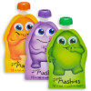 Little Mashies Reusable Squeeze Pouch Pack of 10 - FRONT