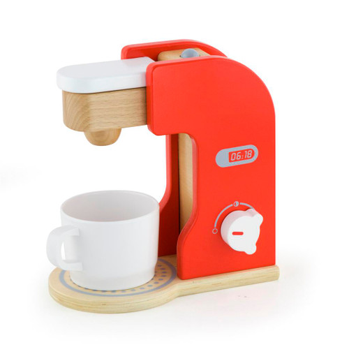 Viga Wooden Coffee Maker Barista Toy