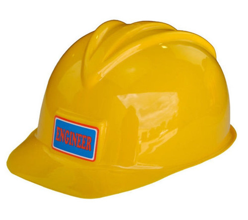 Kids Dress-up Construction Workers Hard Hat Yellow