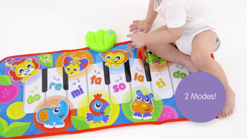 Playgro Jumbo Jungle Piano Musical Piano Mat