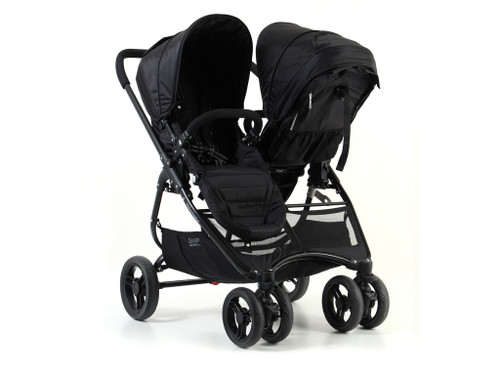 Valco Baby Snap Ultra Duo Coal Black - Twin Side by Side Pram