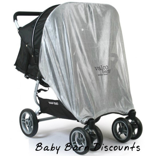 Valco Baby Snap Duo Mirror Mesh for Two Hoods