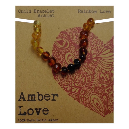 Amber Love Baltic Amber Child Bracelet Anklet