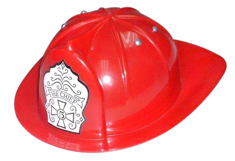 kids dress up fireman costume toy fire chief hat helmet