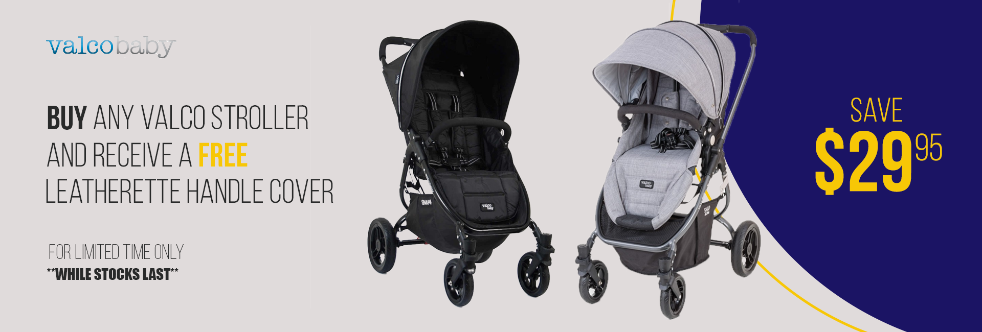 Valco Stroller Special Deal