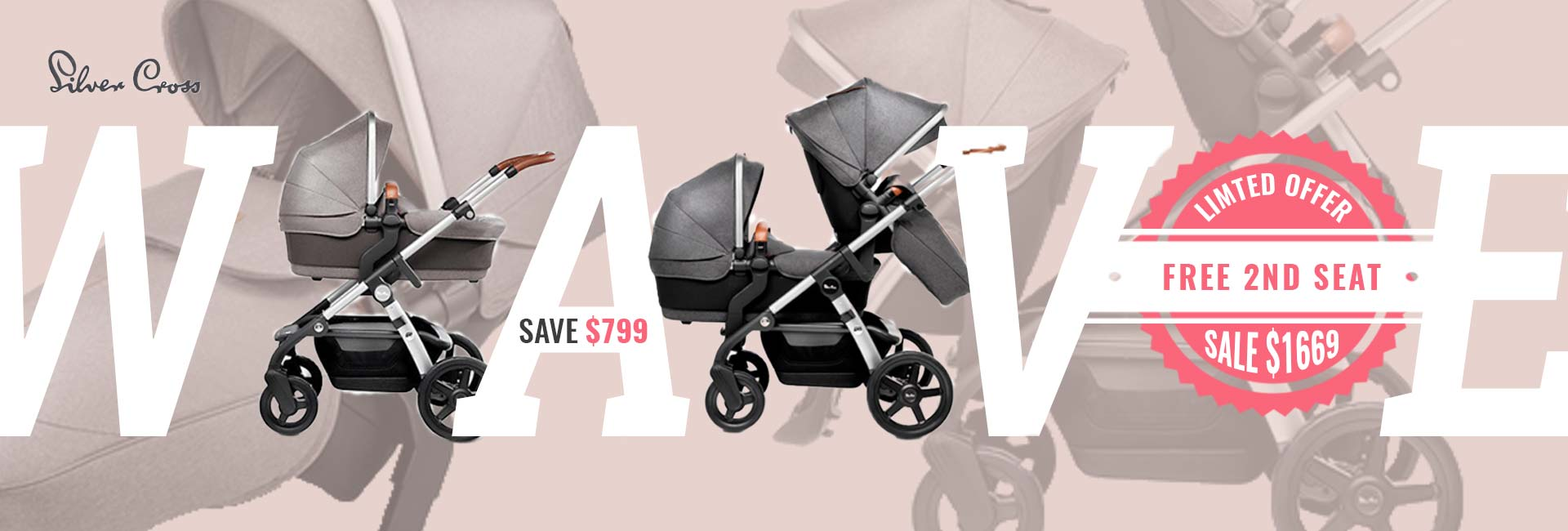 silver cross wave exclusive sale  $1669