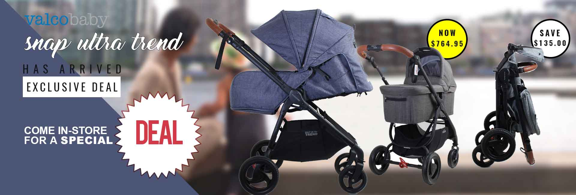 Snap Ultra Trend Exclusive Deal at Baby Barn Discounts