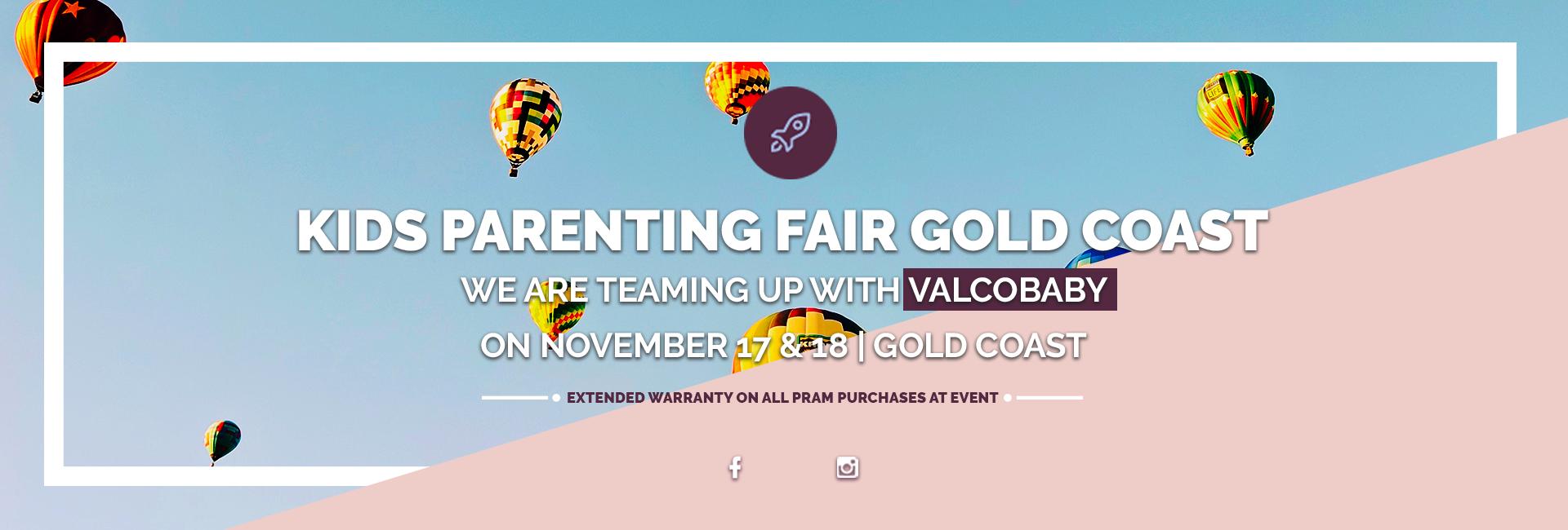 Kids Parenting Fair Gold Coast 2018 Parenting Fair Gold Coast with Valcobaby 2018