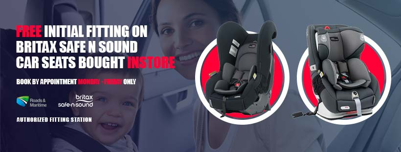 Baby Car Seat Fitting Services on the Gold Coast with Baby Barn Discounts