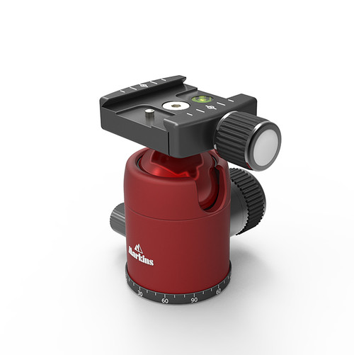 Q3i Traveler with Quick Turn Knob (Red)