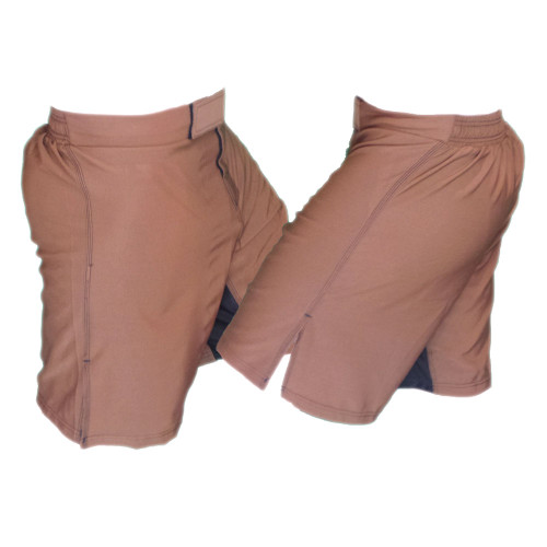 Brown MMA Fight Shorts